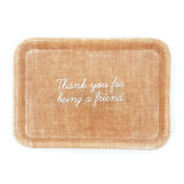 THREE potato FOUR Trinket Tray | Thank You For Being A Friend
