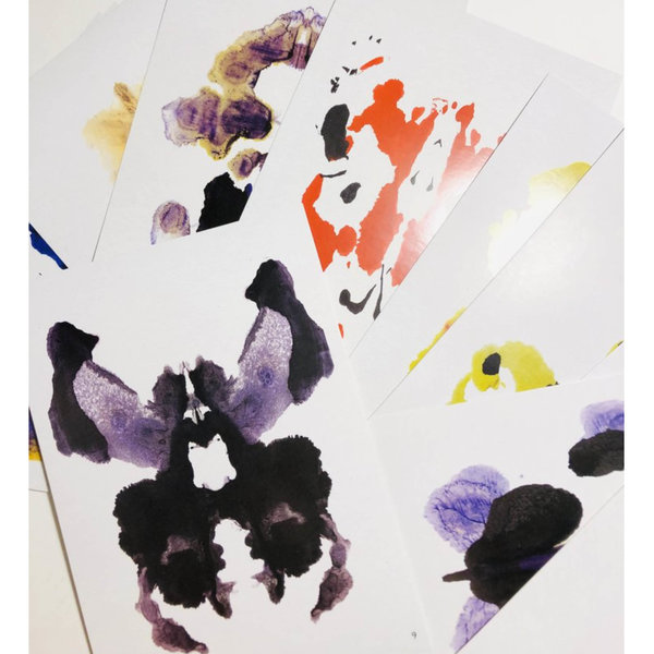 Chronicle Books Game | Inkblot Test