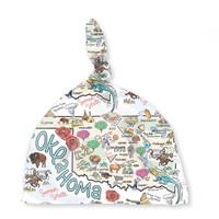 Fish Kiss Baby Hat | Oklahoma Map