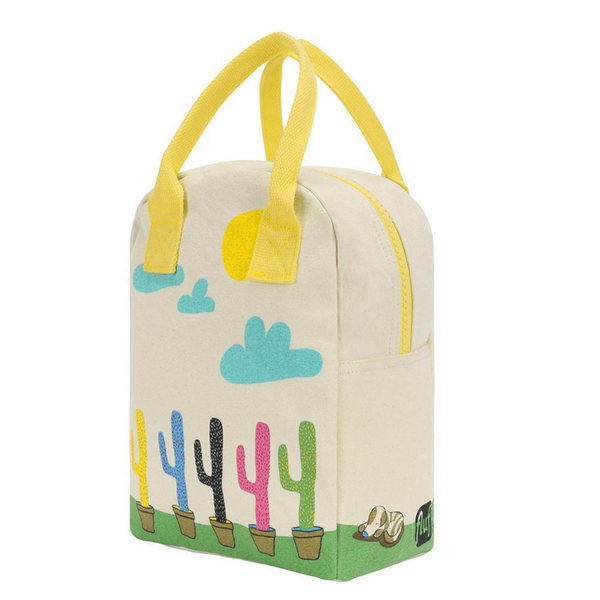 Fluf Textile Goods Inc Zipper Lunch Bag | Cactus