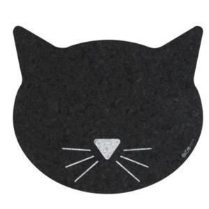 O.R.E. Petmat|Cat Face|Black