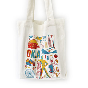 SHOP GOOD Canvas Bag | Oklahoma Icons
