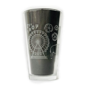 Ink & Etch Pint Glass | 1907