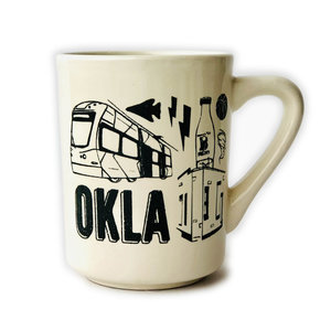 Ink & Etch Mug | OKLA
