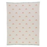 Meri Meri Blanket | Knitted Rainbow