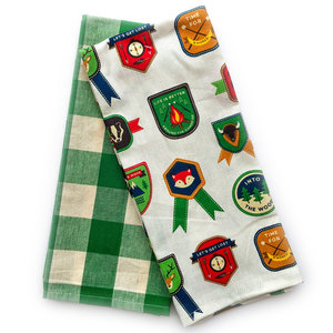Now Designs Tea Towel | Set/2 | Explore More