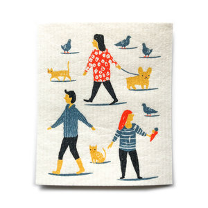 Now Designs Swedish Dishcloth | People Person
