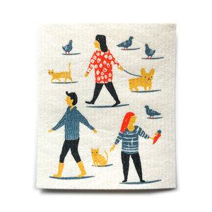 Now Designs Swedish Dishcloth People Person