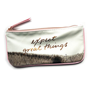 Compendium Bag Pencil Pouch | Expect Great Things