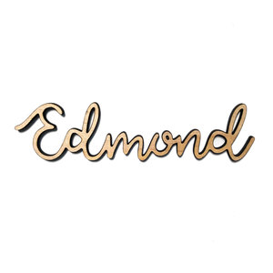 Rooted & Built Design Wall Art | City Script | Edmond