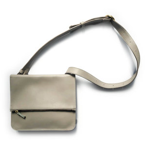 Minor History Belt Bag | Foldover | Dove Nappa