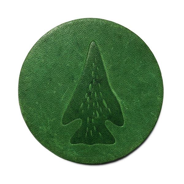 Jimmyrockit Coaster  |  Leather | Arrowhead