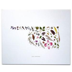 Evie-S Art Print   Oklahoma Flora   8x10