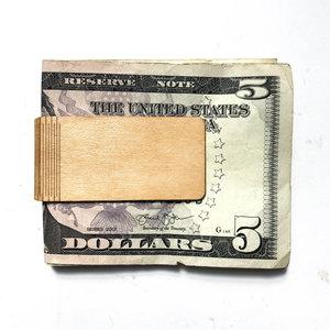 Money Clip|Wood|Maple