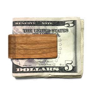 Money Clip Wood Cedar