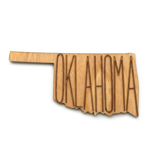 Zootility Tools Coaster|Cut-Out|Oklahoma|Set/4