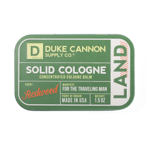 Duke Cannon Solid Cologne | Land
