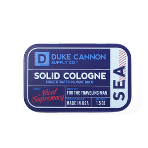 Duke Cannon Solid Cologne | Sea