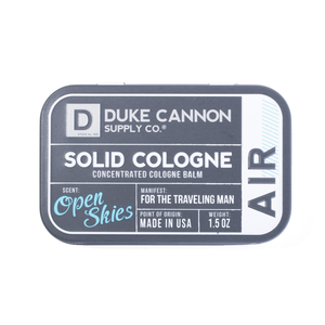 Duke Cannon Cologne | Solid | Air