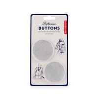 Bike Buttons | Reflective