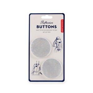 Kikkerland Buttons | Reflective