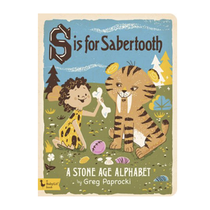 Gibbs Smith Board Book | S Is For Sabertooth