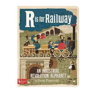 Gibbs Smith Board Book | R Is For Railway
