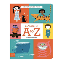 Gibbs Smith Board Book | Classic Lit A To Z