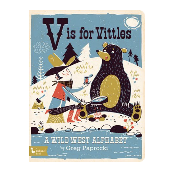 Gibbs Smith Board Book | V Is For Vittles