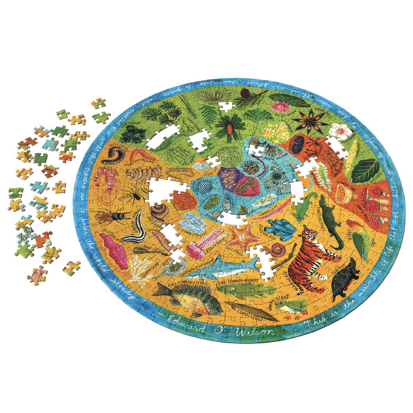 EEBOO Puzzle | 500 Piece | Biodiversity
