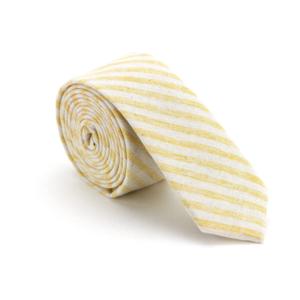 ZUZU Necktie | Mustard Stripe
