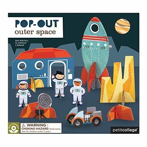 Petit Collage Puzzle | Pop-Out | Outer Space