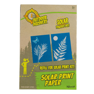 Toysmith Group Solar Print Paper Kit