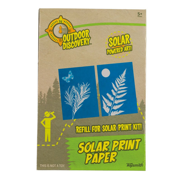 Toysmith Group Solar Print Paper Kit