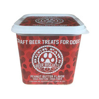 Beer Paws Beer Paws | Peanut Butter Biscuits | 12oz Tub