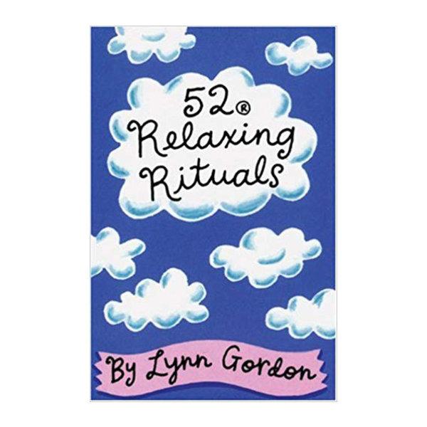 Chronicle Books Card Set | 52 Relaxing Rituals