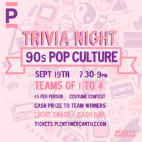 PLENTY Trivia Night