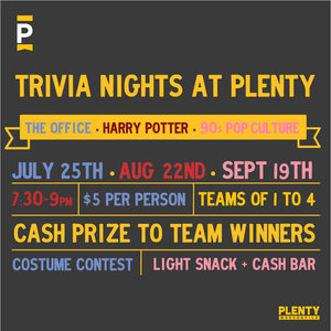 PLENTY Trivia Nights