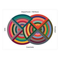 Chronicle Books Puzzle   750pc   MOMA Frank Stella