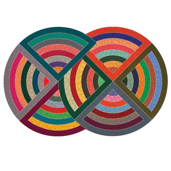 Chronicle Books Puzzle|MOMA Frank Stella|750PC