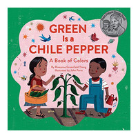 Chronicle Books Board Book | Green Is A Chile Pepper