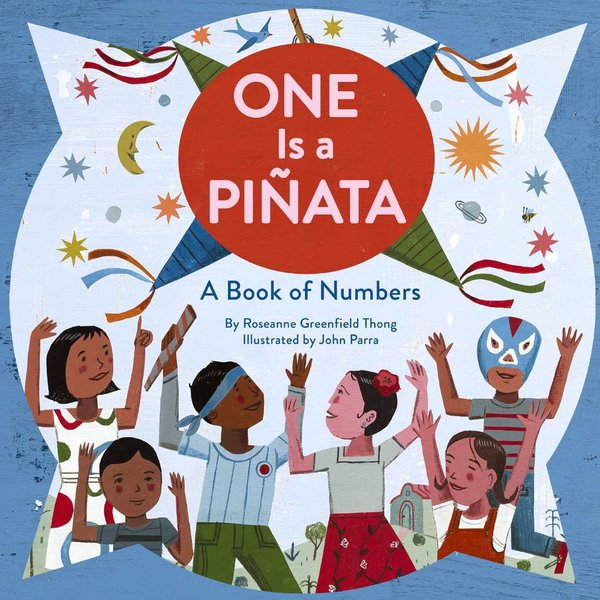 Chronicle Books Book | One Is A Pinata