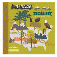 Gibbs Smith Board Book | All Aboard National Parks