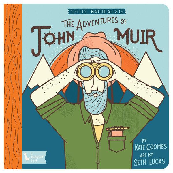 Gibbs Smith Board Book   Little Naturalists   John Muir