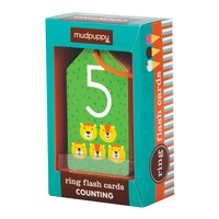Chronicle Books Ring Flash Cards | Counting