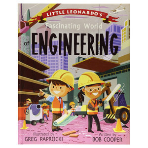 Gibbs Smith Book | Little Leo World | Engineering