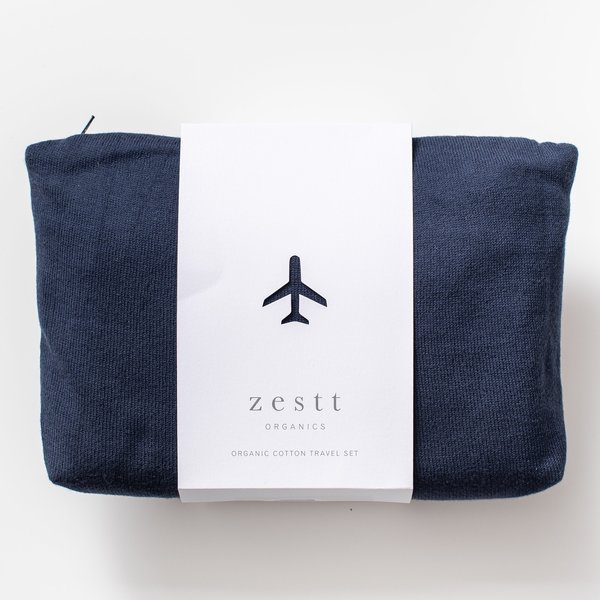 Zestt Travel Set | Organic Cotton | Birch