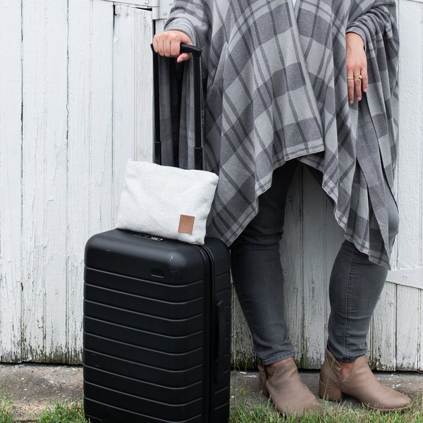 Zestt Travel Set | Organic Cotton | Light Gray