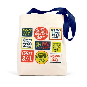 Emily McDowell Bag | Canvas Tote | Store Signs