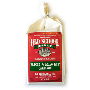 Old School Brand Cake Mix | Red Velvet
